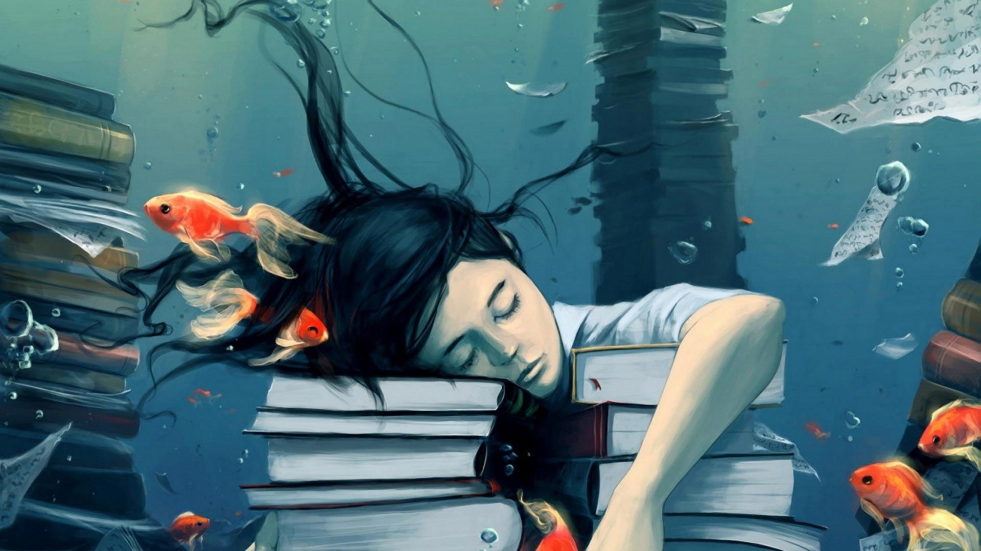 Утонула во сне