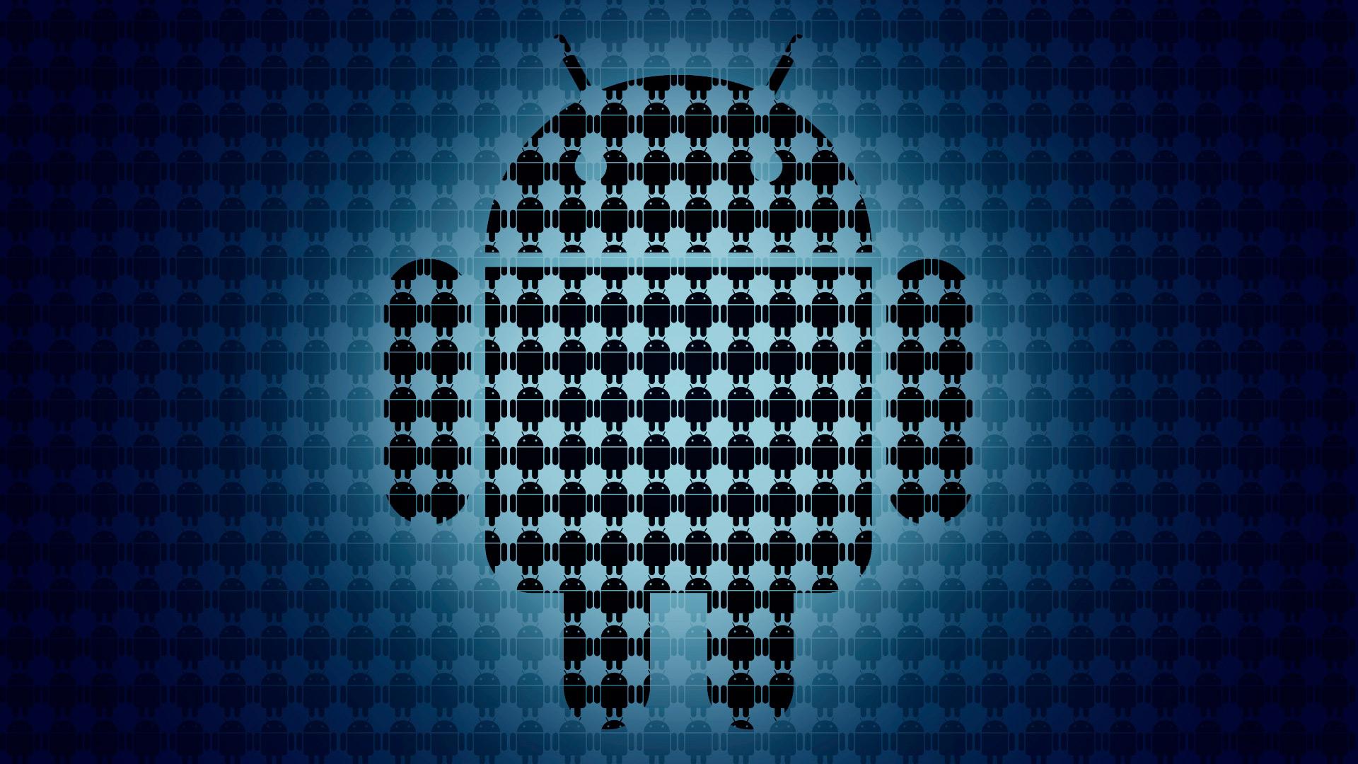 Обои android logo new для рабочего стола
