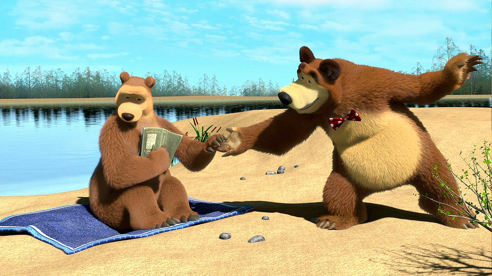 Сексуальная маша и медведь 6 фотография