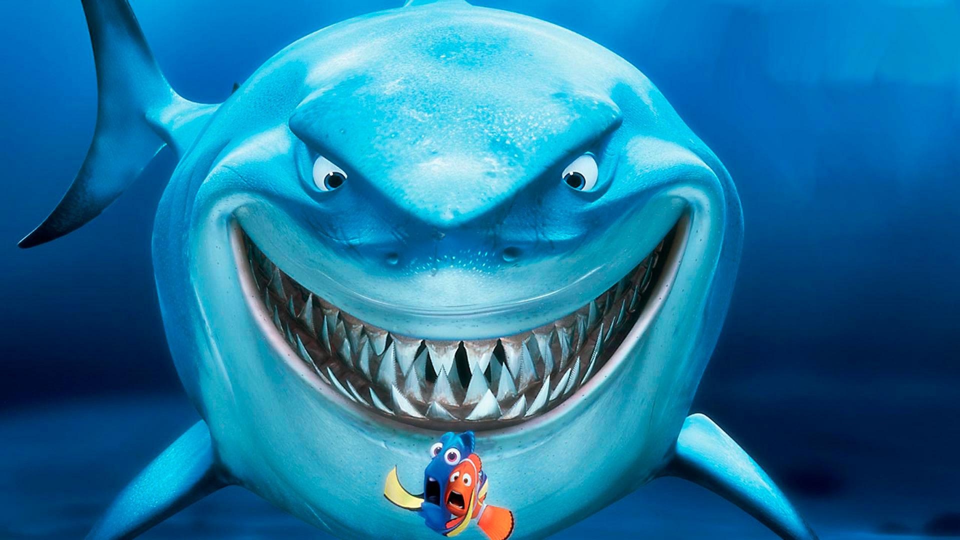 Страшная акула скачать фото обои для рабочего стола.