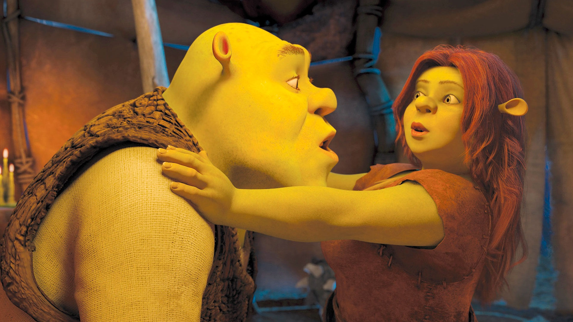 Photos of shrek fucked hard by fiona fucked scene