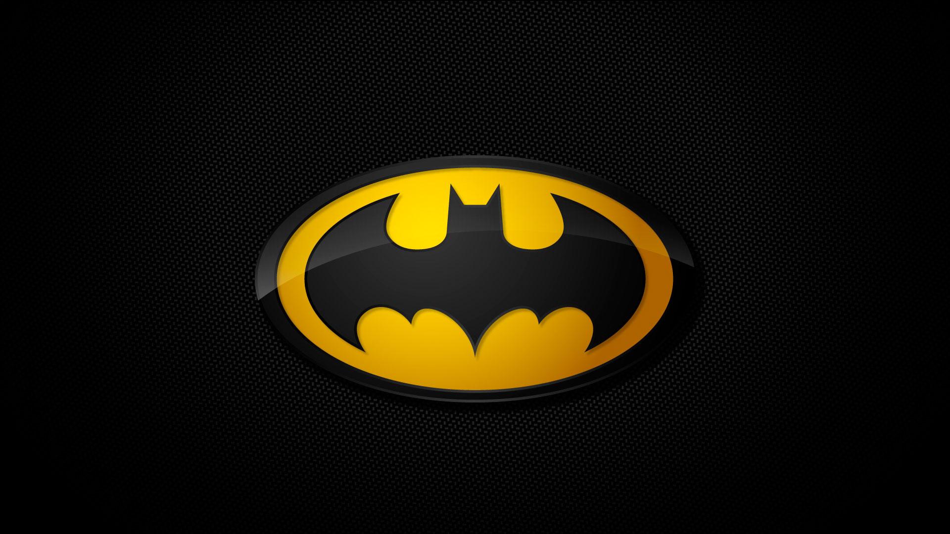 Широкоформатные обои символ бэтмена