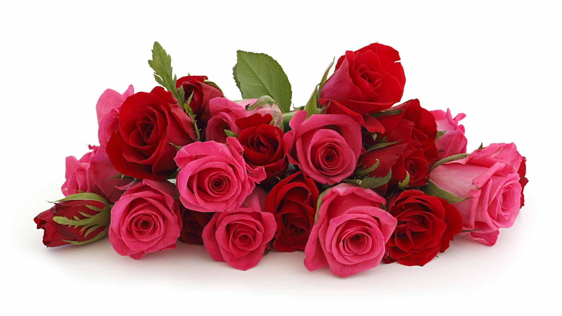 Розы букет открытка с днем