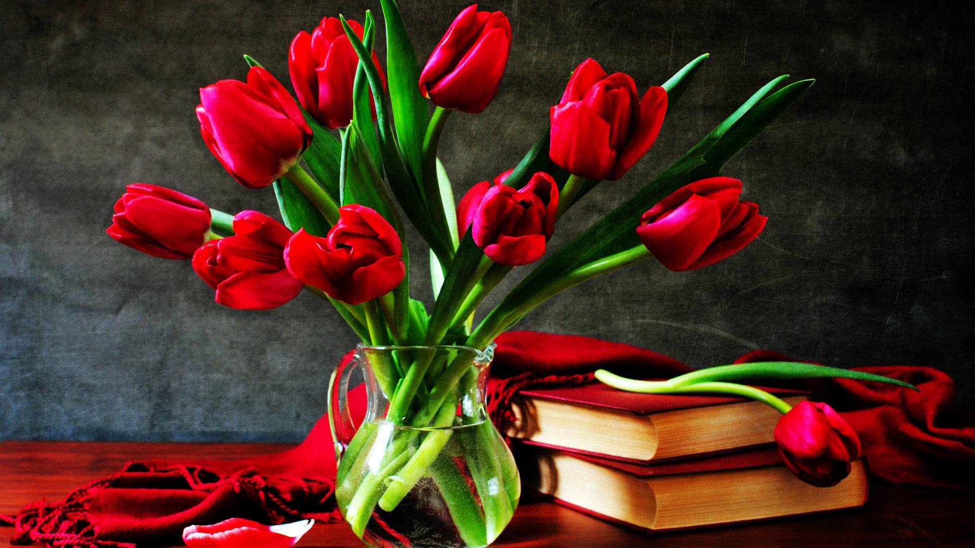 Красивые картинки на рабочий стол с тюльпанами