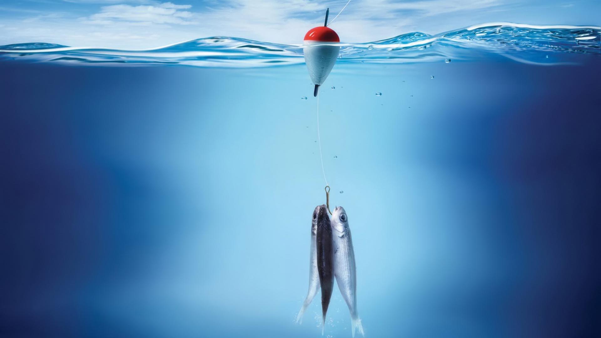 обои для рабочего стола рыбацкие