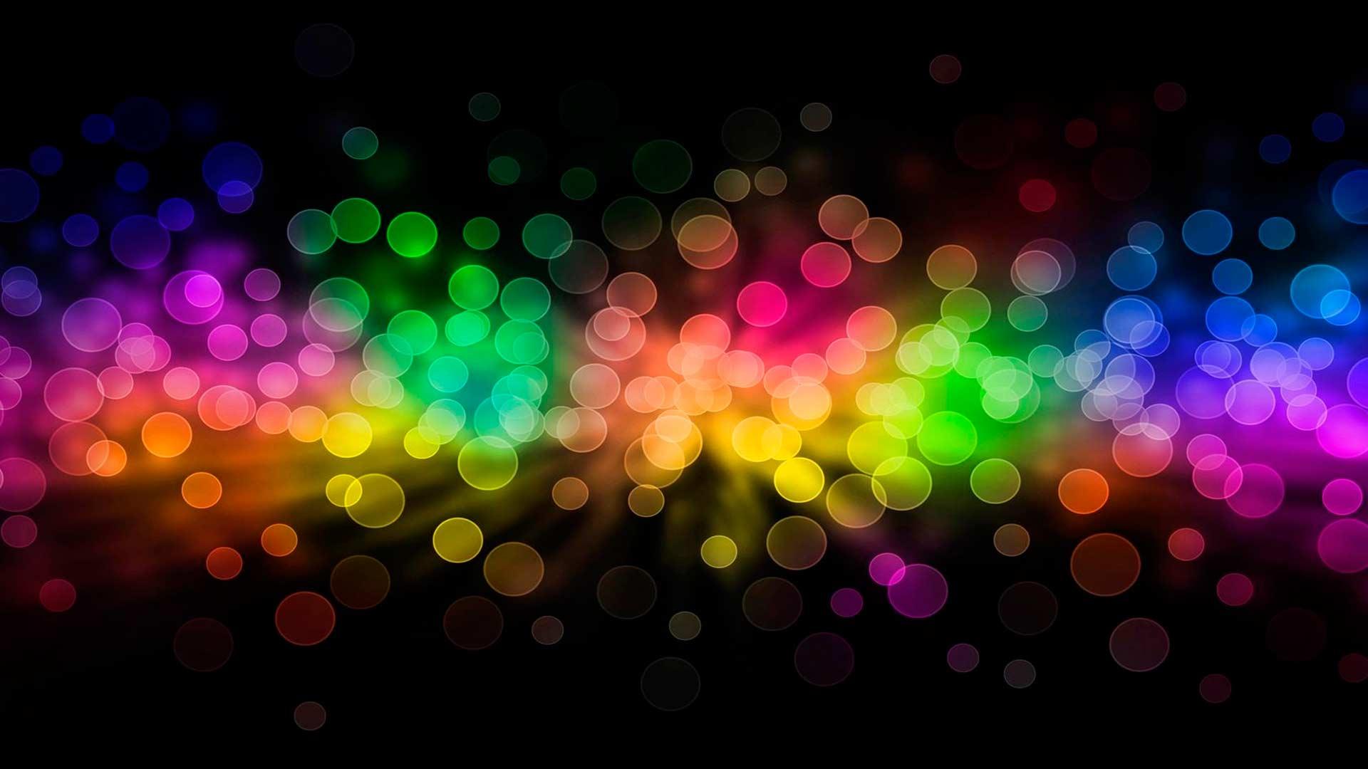 Обои пульсация цветов для рабочего
