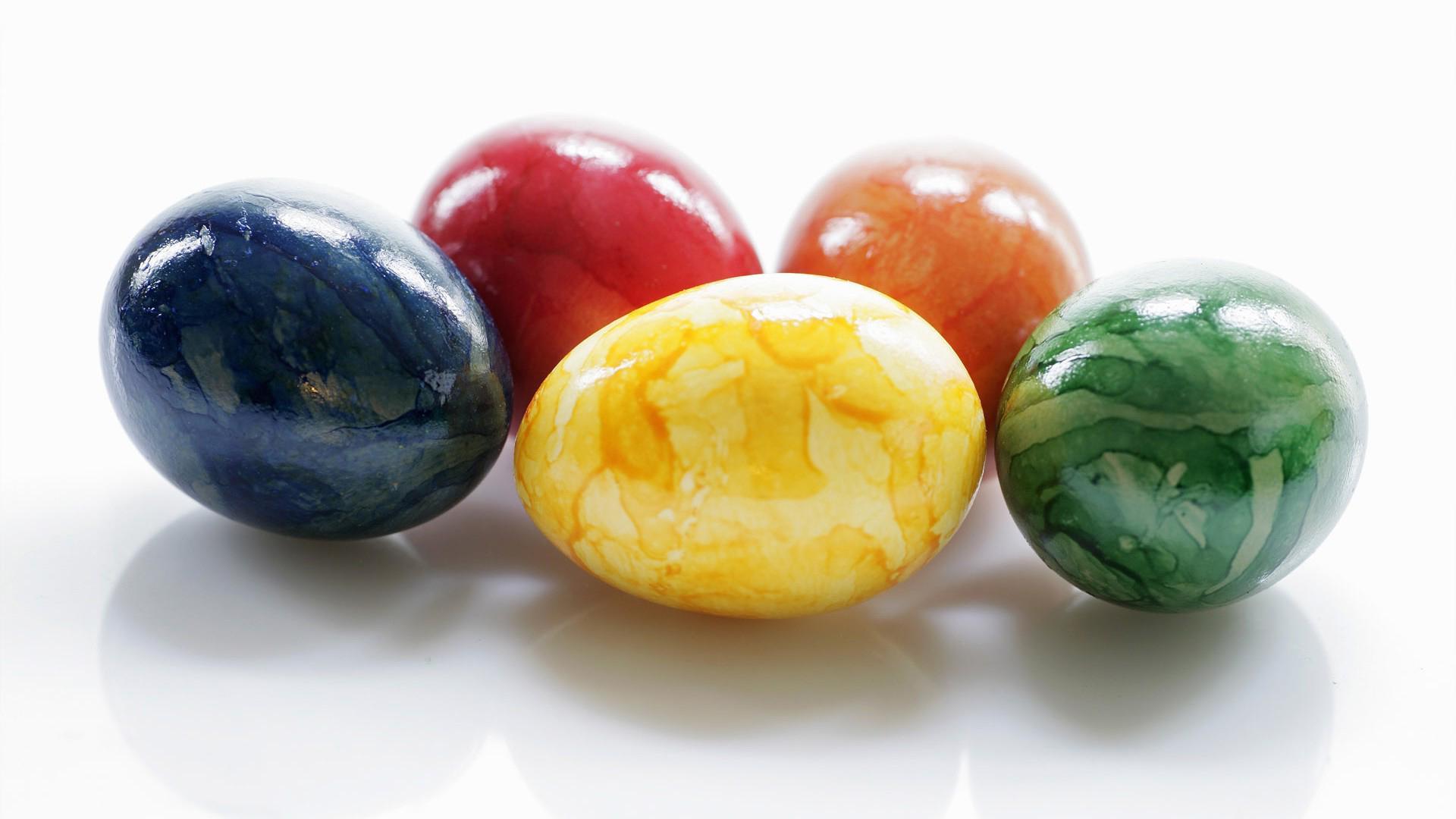 Обои пасхальные яйца яйца на пасху