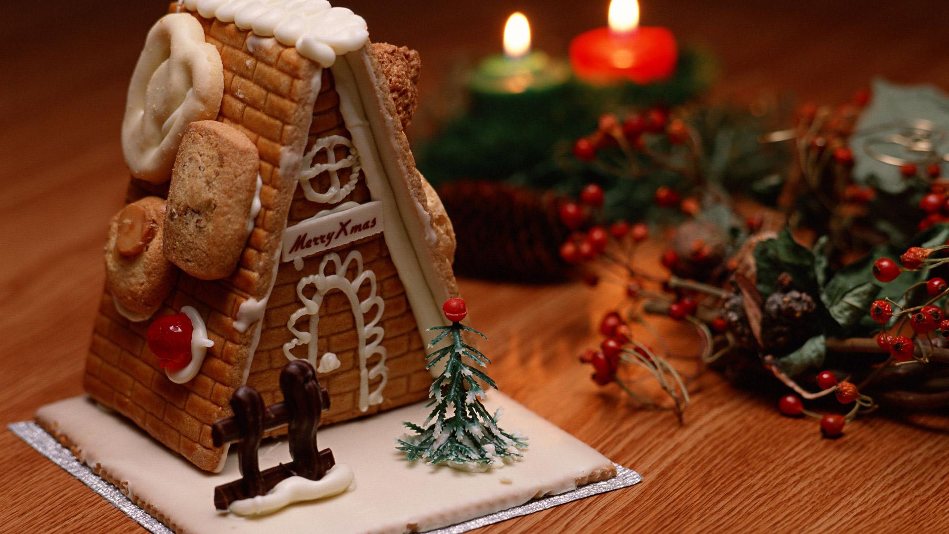 Сладости рождественские сладости