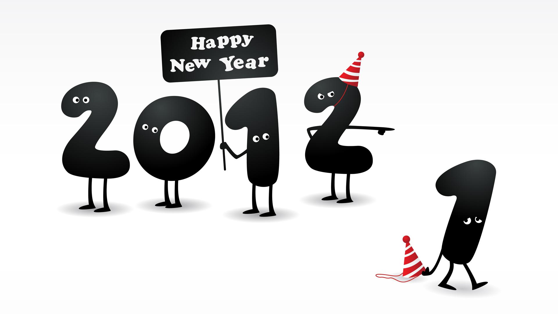 Обои happy new year 2012 happy new year 2012