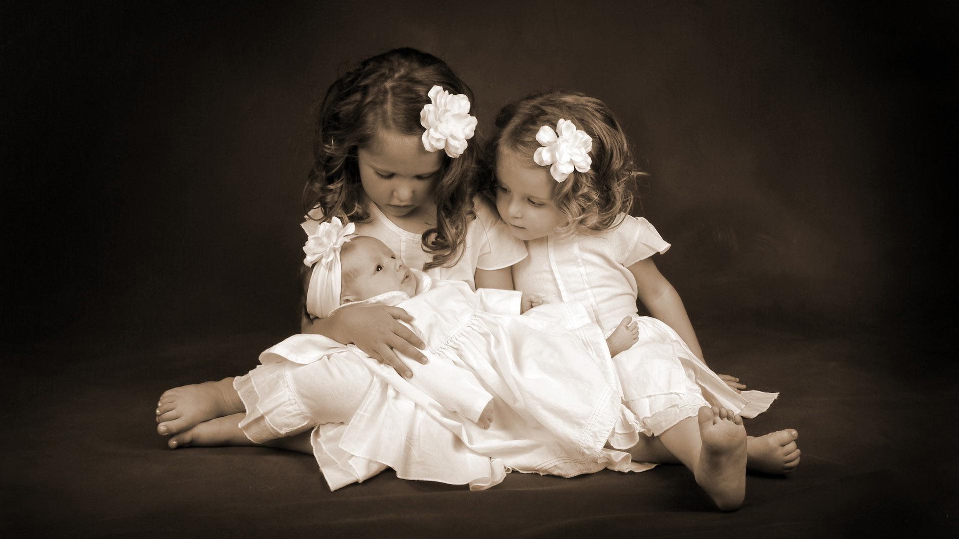 дети фото обои на рабочий стол № 522630 без смс