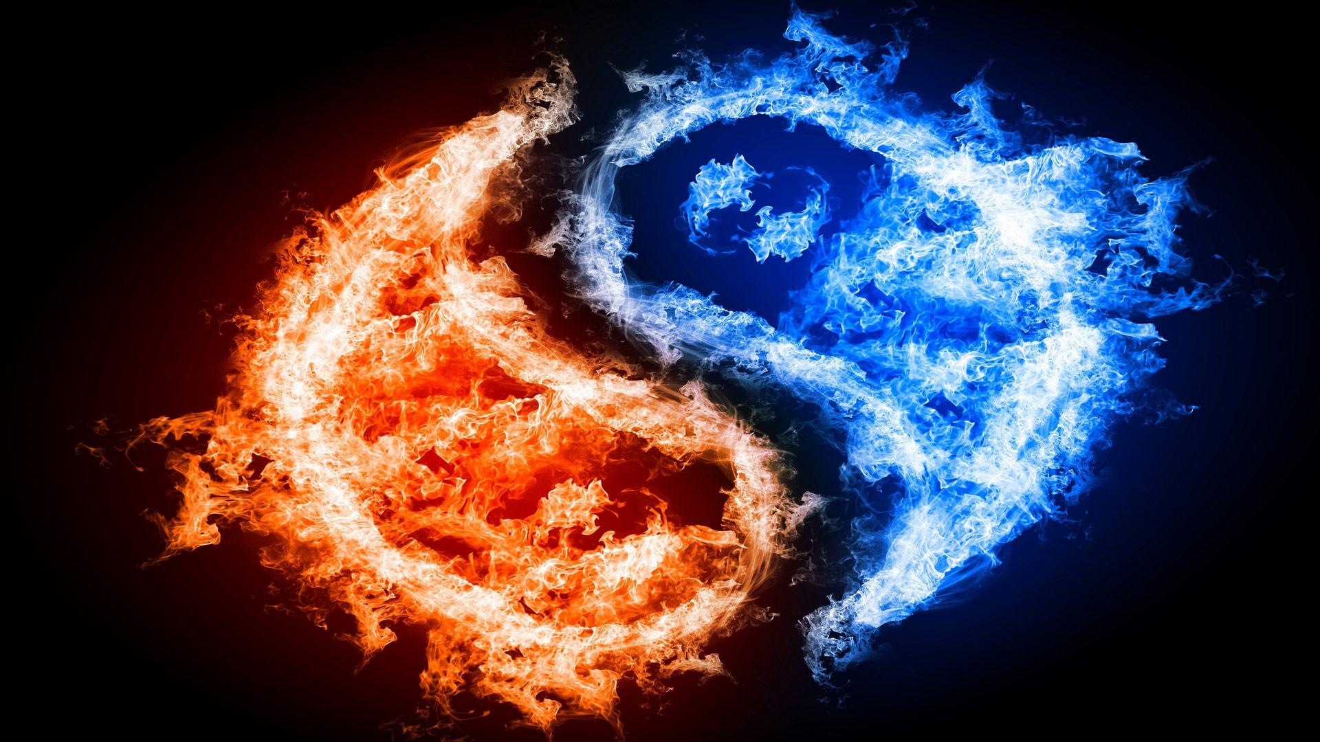 Обои огонь для рабочего стола бесплатно скачать