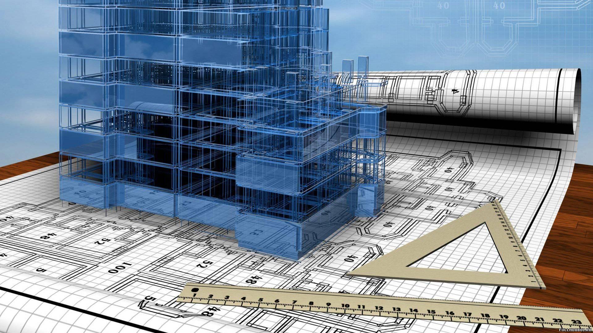 И строительство макет строения на