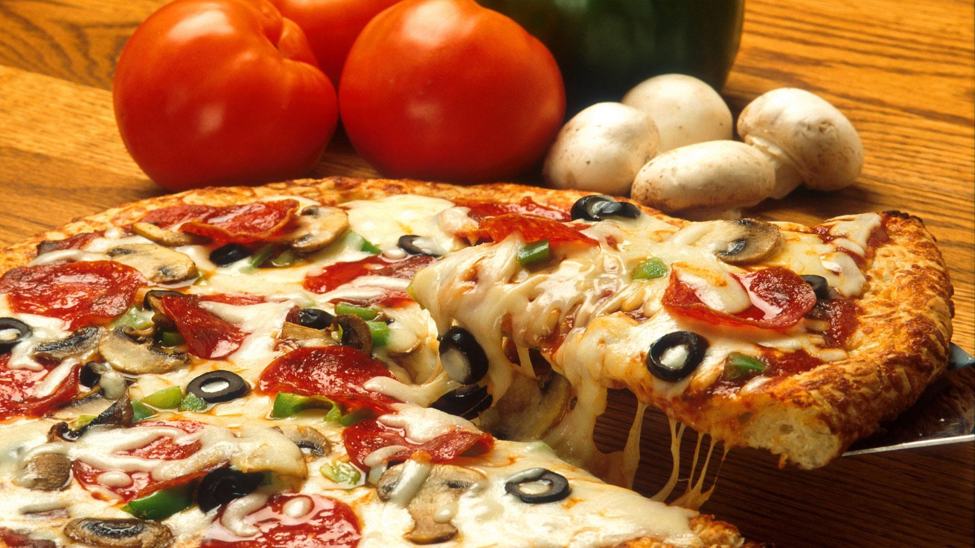 """Предпросмотр схемы вышивки  """"Пицца1 """"."""