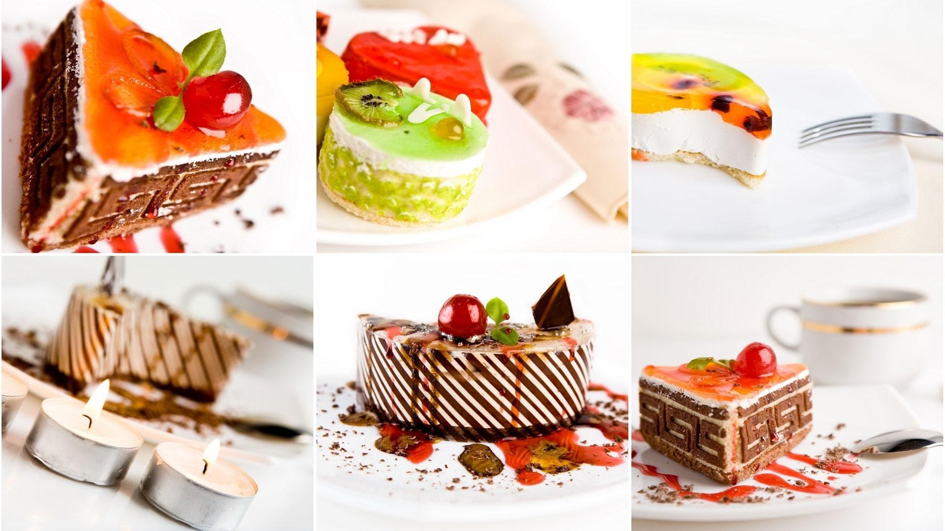Разные рецепты десертов с фото