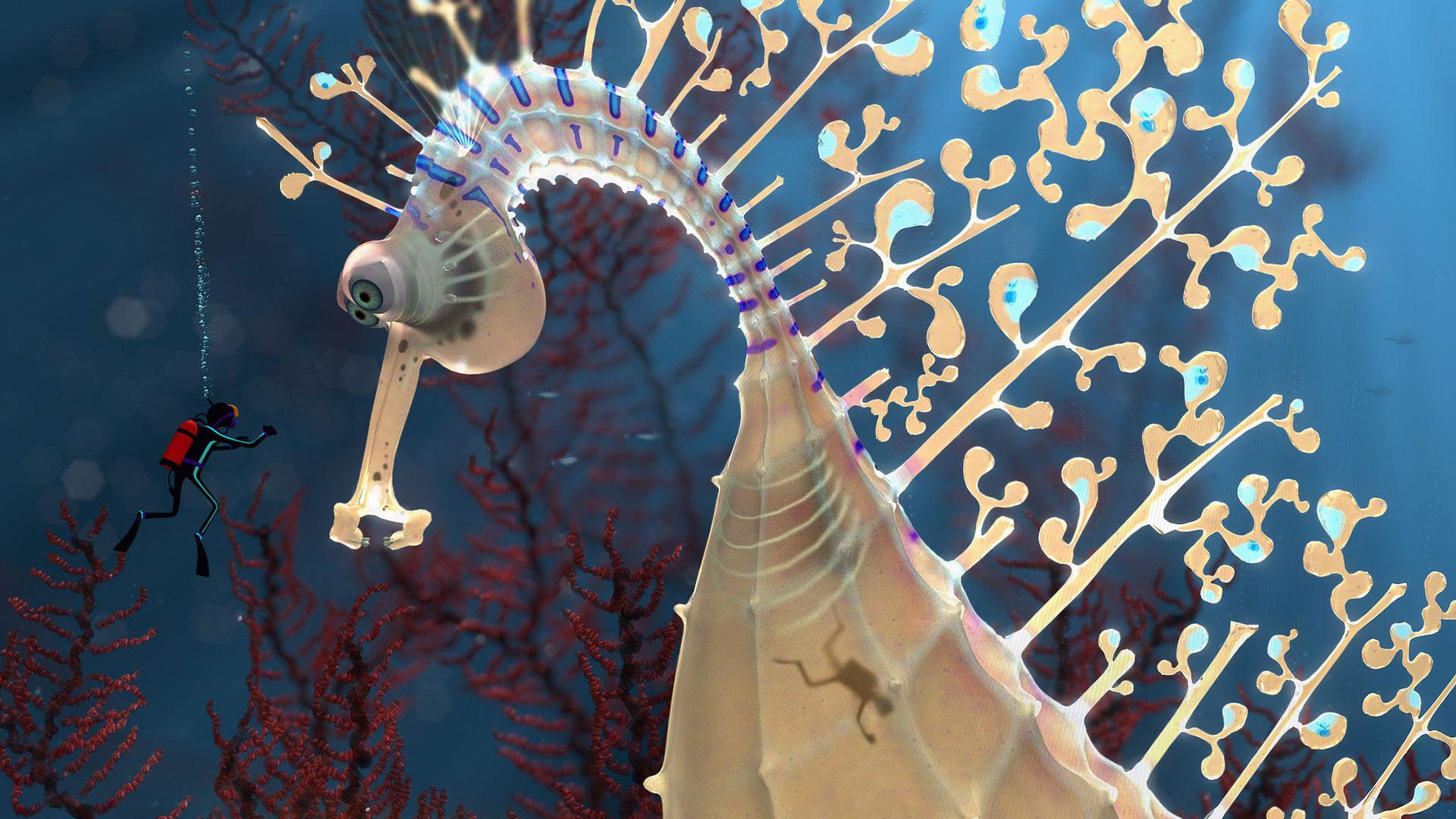 Странный морской конек морской конек