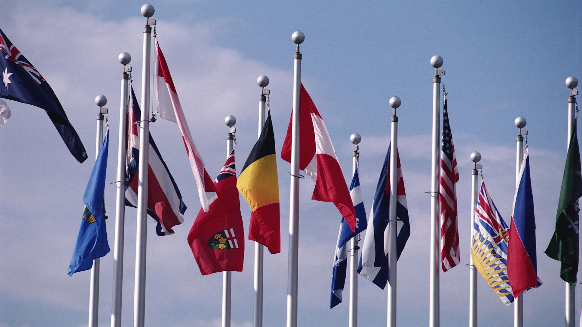Обои флаги мира флаги стран мира flags