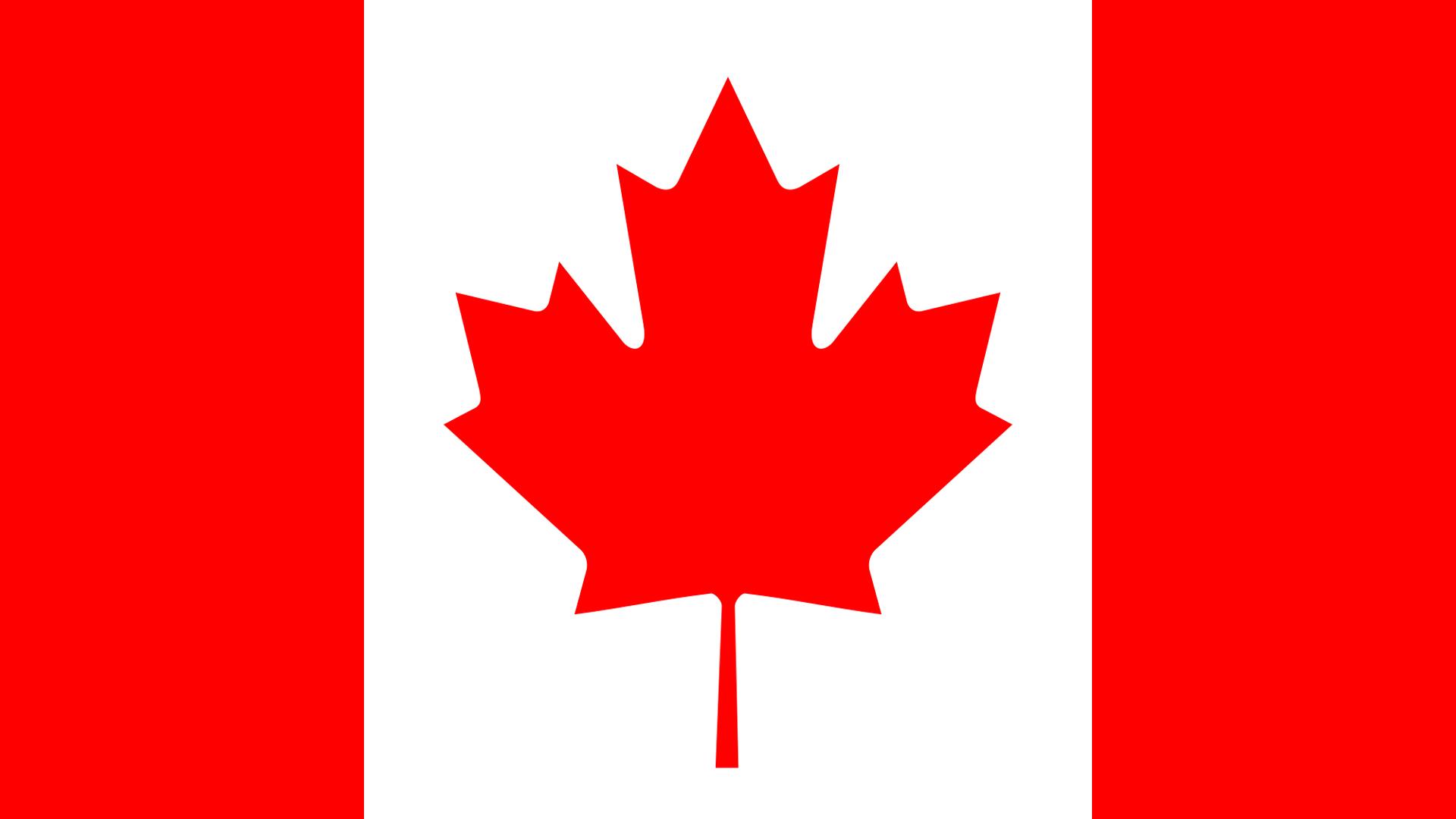 Обои флаг канады для рабочего стола