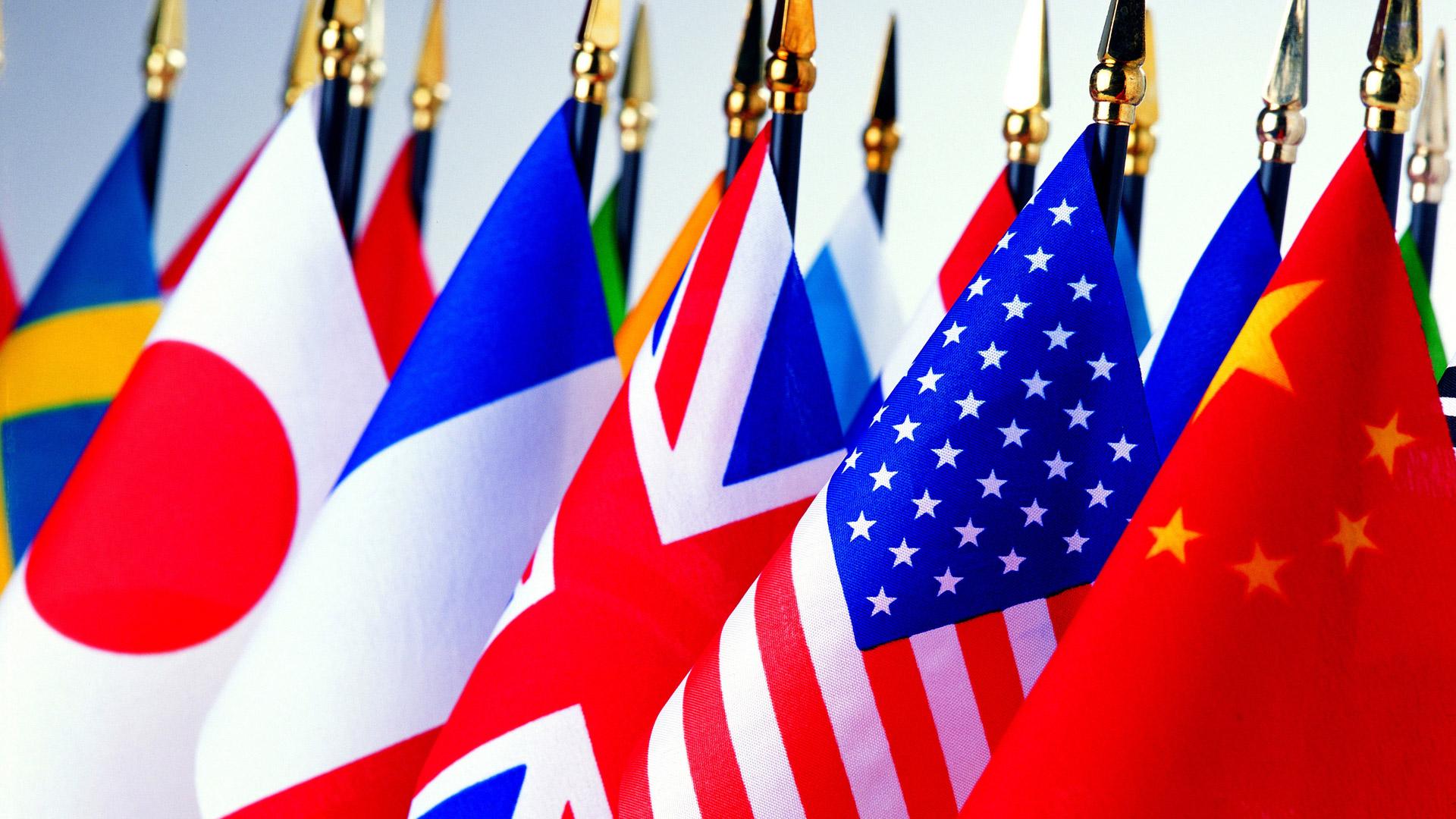 Обои флаги государств флаги