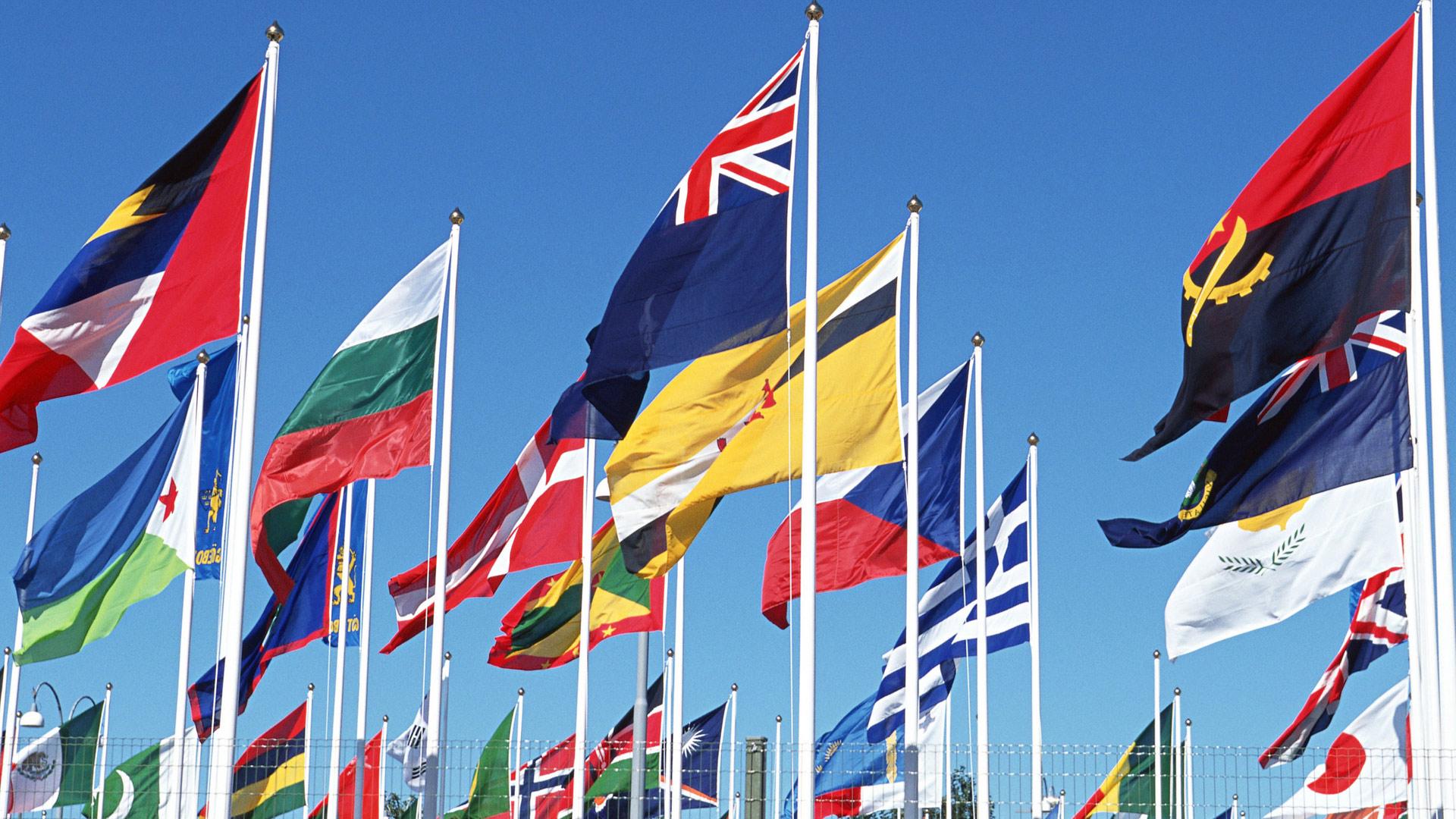 Обои флаги флаги стран мира flags