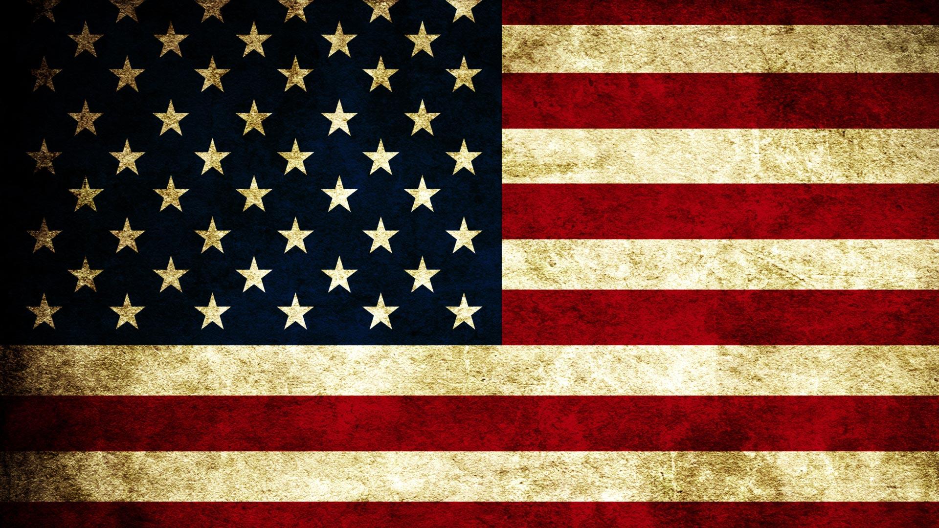 Обои флаг сша гранж американский флаг