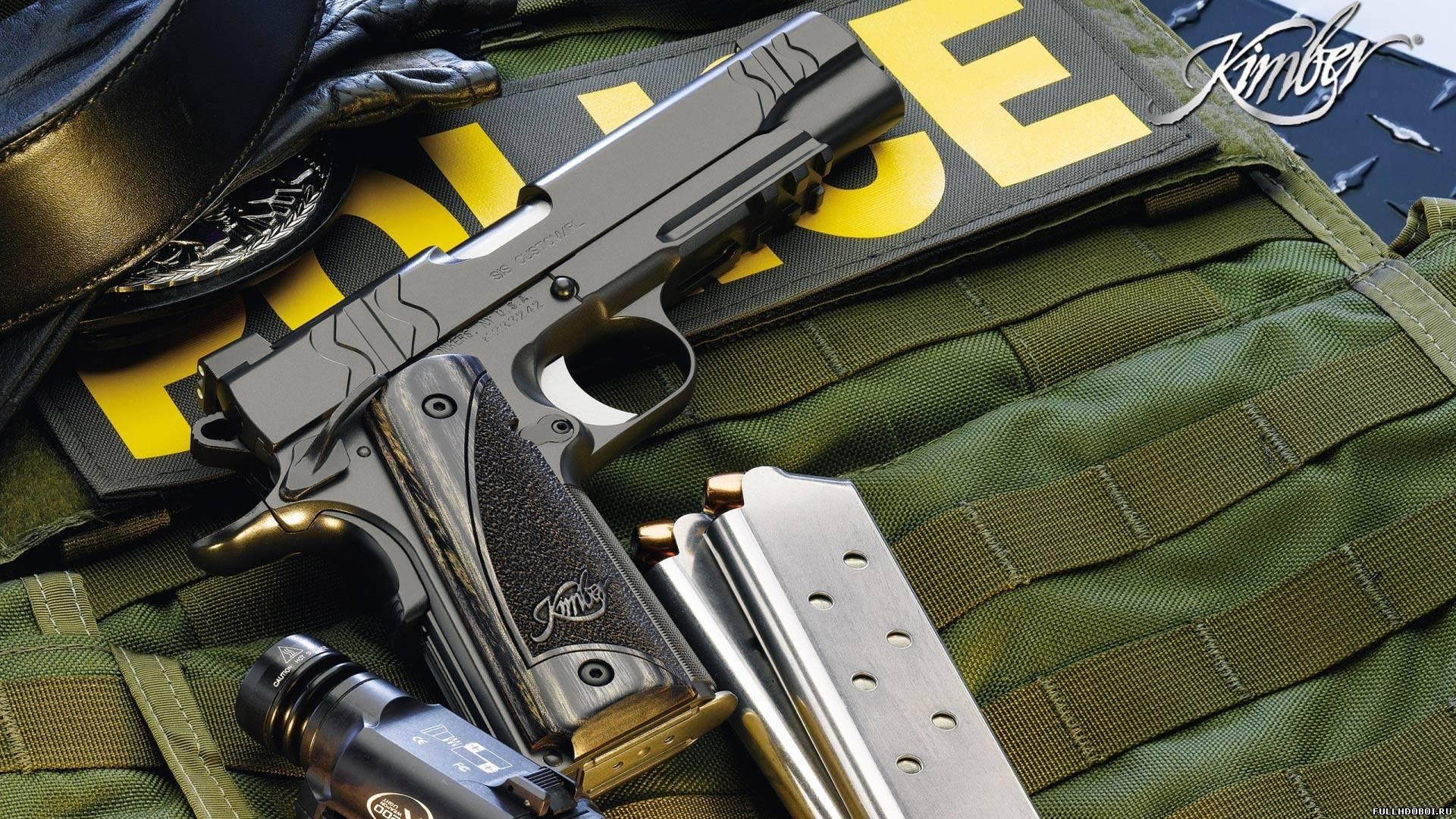 Обои огнестрельное оружие полиции для