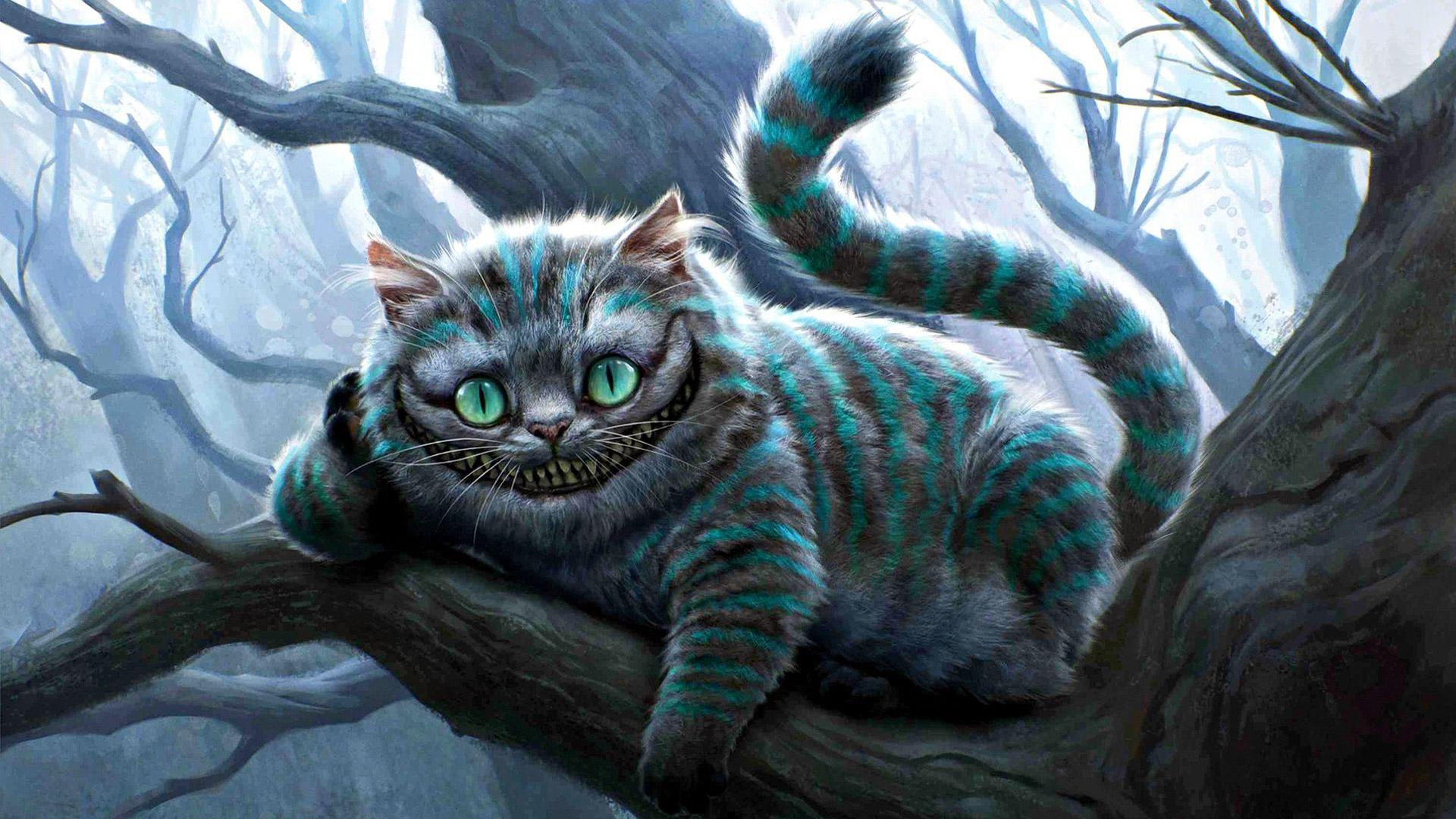 Алиса в стране чудес чеширский кот