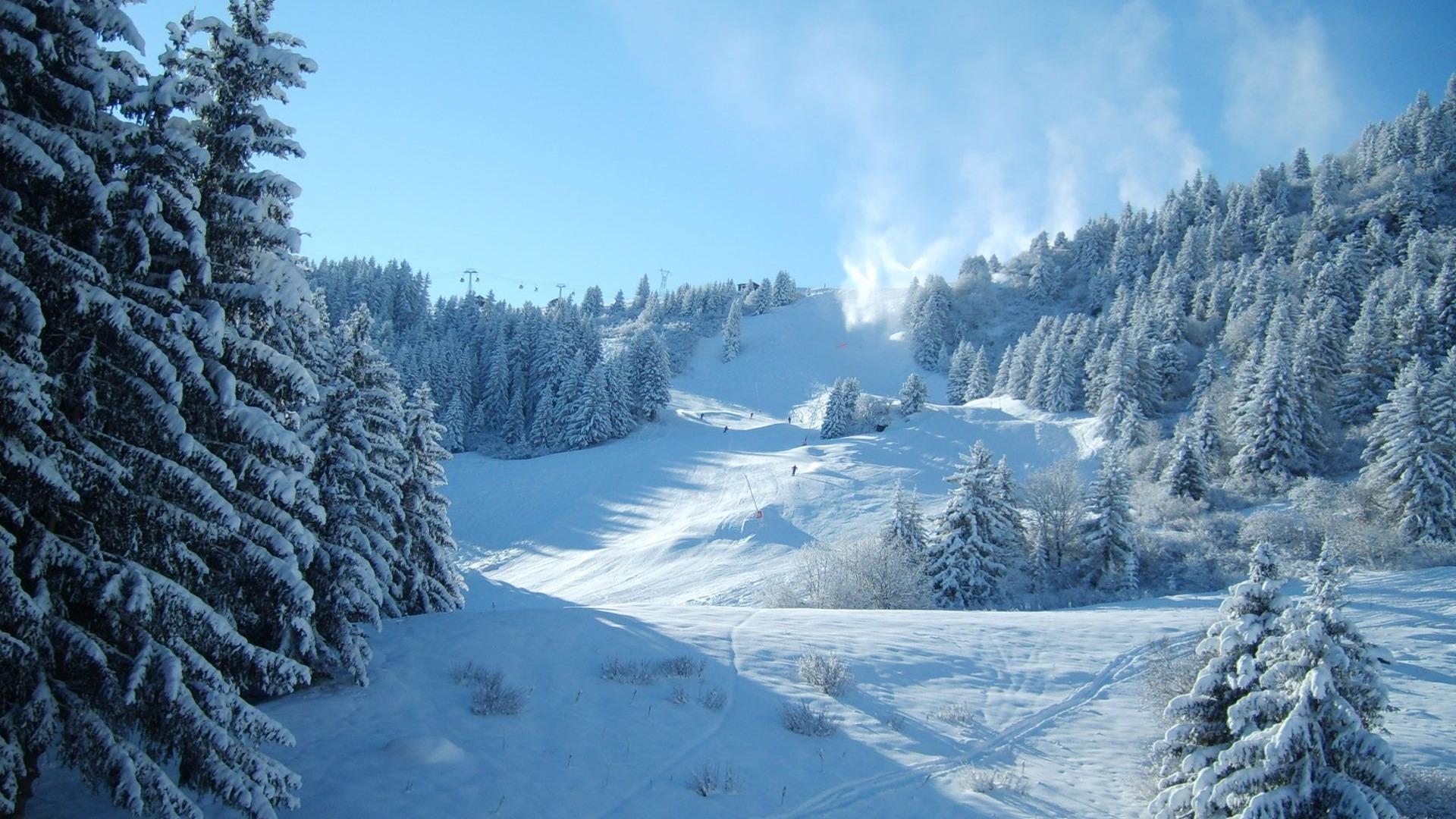 Картинки зима широкоформатные обои
