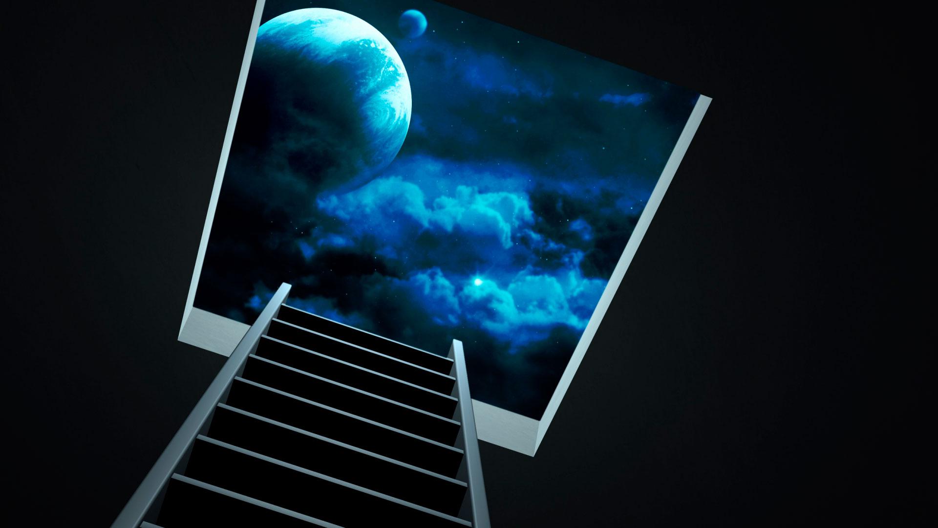 Обои ночное небо для рабочего стола