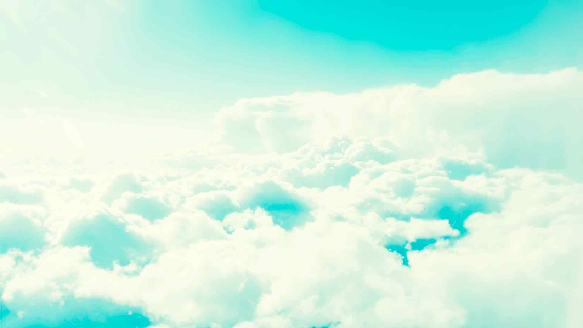 Обои облака и небо голубое небо