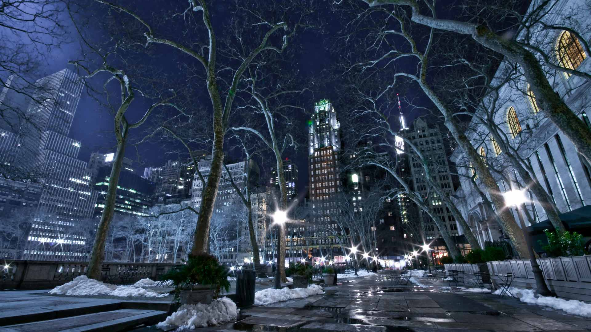 Нью йорк стальные краски зимнего нью