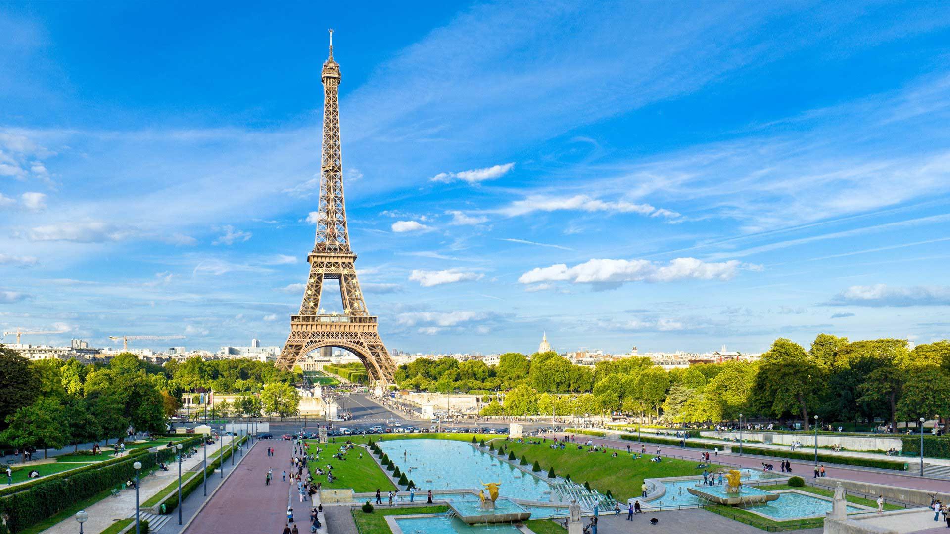 Обои эйфелева башня в париже для