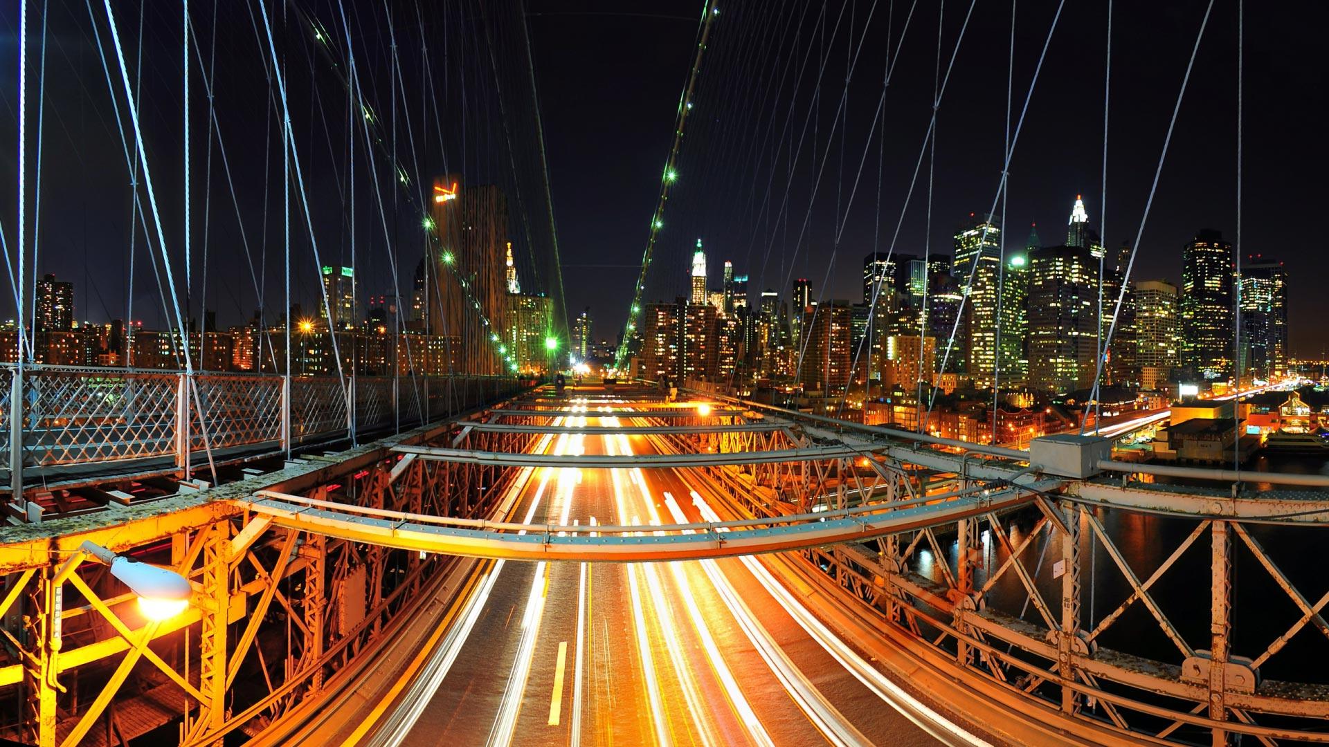 Бруклинский мост обои на рабочий стол 5