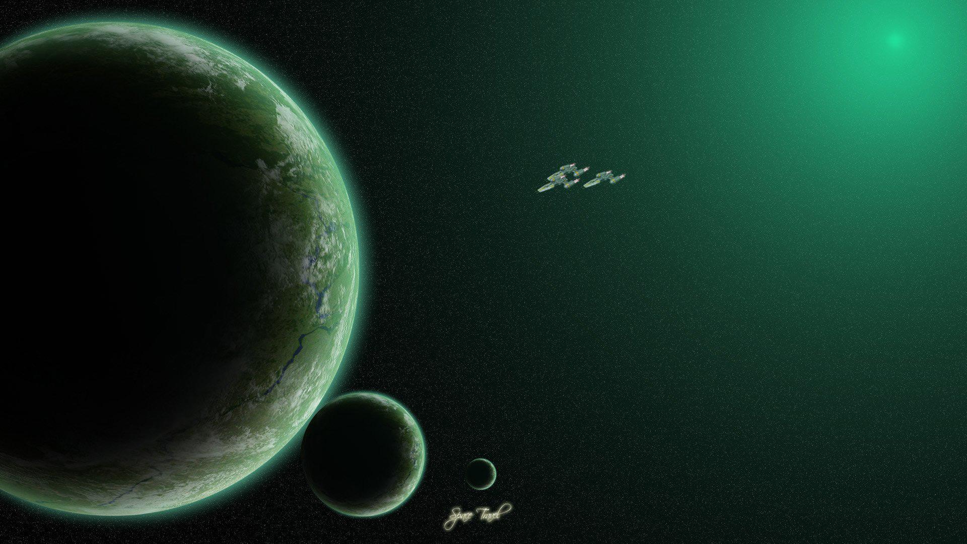 Обои планета земля из космоса вид