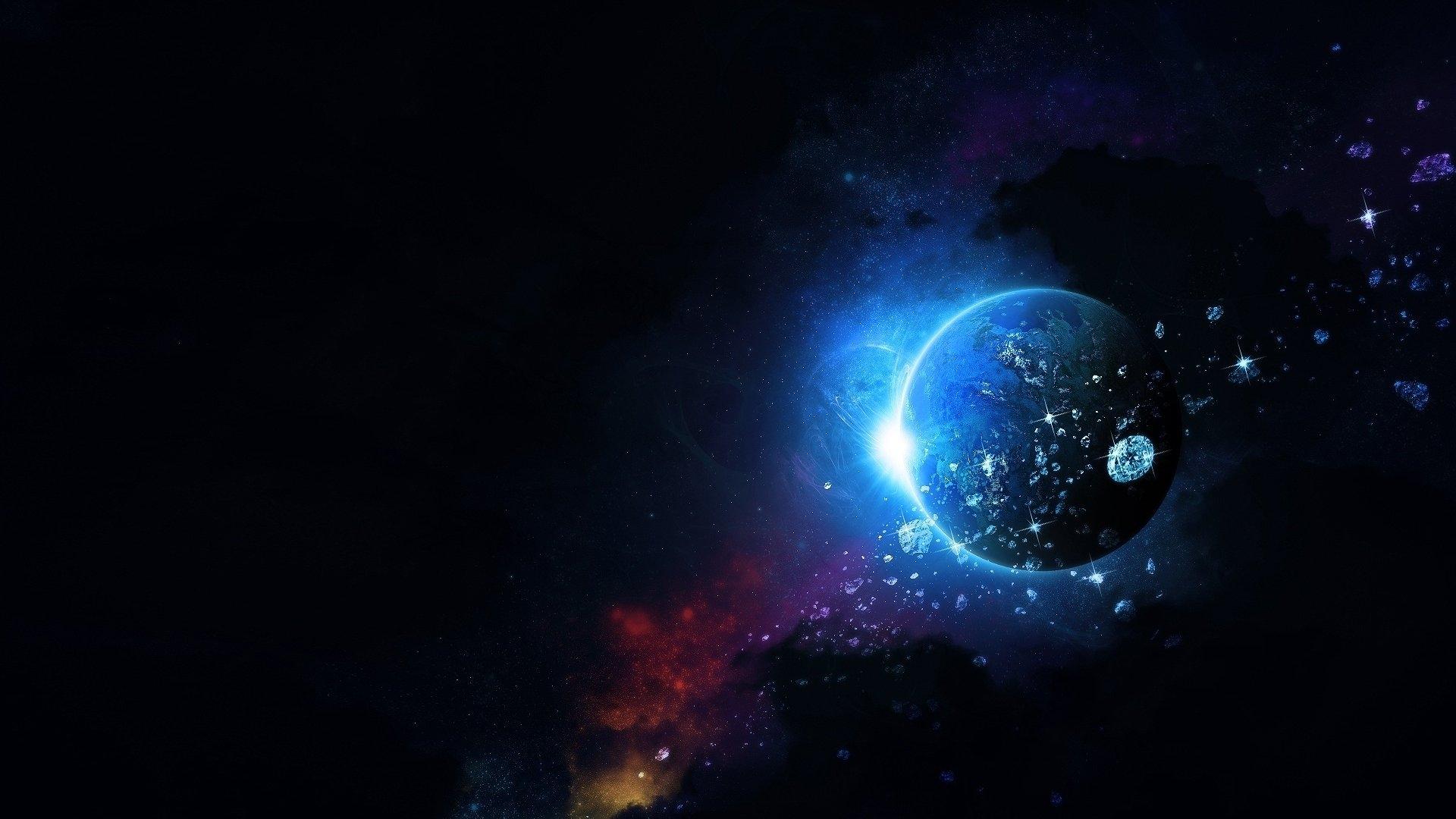 Красивый космос красивый космический